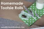 Homemade Tootsie Rolls