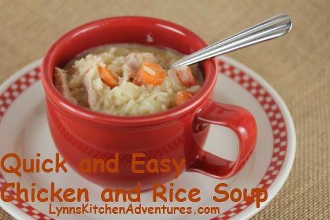Quick and Easy Chicken and Rice Soup