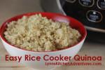 Rice Cooker Quinoa