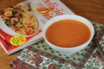 Tomato, Basil, and Red Pepper Soup {Cooking Through My Collection}