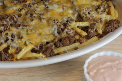 Taco Fries from LynnsKitchenAdventures.com
