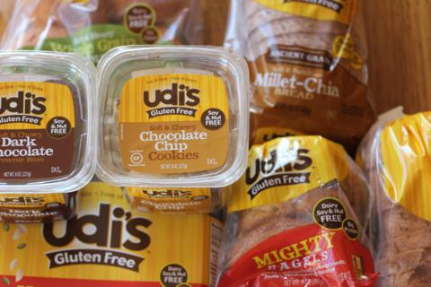 Healthy Gluten Free Eating and Udi's Products