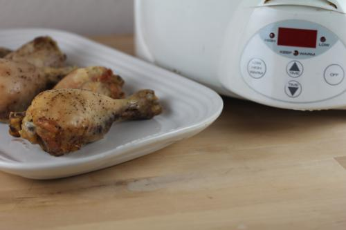 Easy Crock Pot Chicken Legs