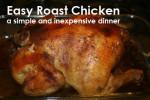 Flora's Easy Roast Chicken