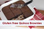Quinoa Brownies