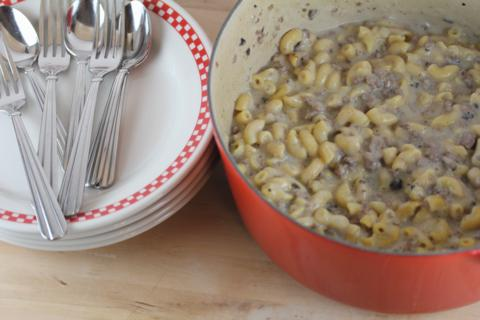 Homemade Hamburger Helper Style Stroganoff