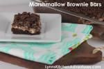 Marshmallow Brownie Bars