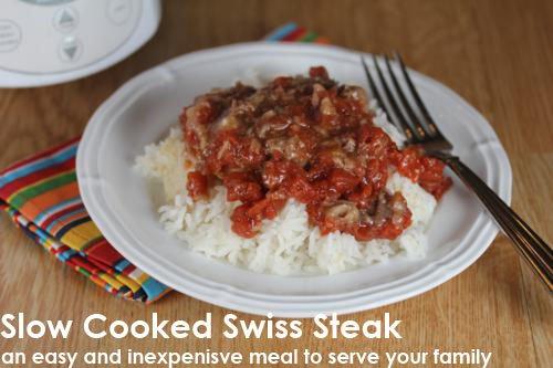 Slow Cooked Swiss Steak