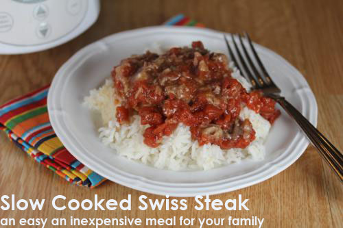 Slow Cooked Swiss Steak