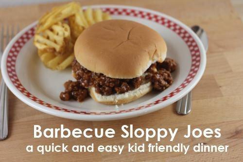 barbecue sloppy joes