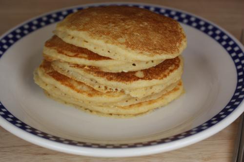 Corn Oatmeal Gluten Free Pancakes