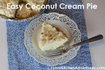 Quick and Easy Coconut Cream Pie {Pi-Day}