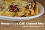 Homemade Chili Cheese Fries
