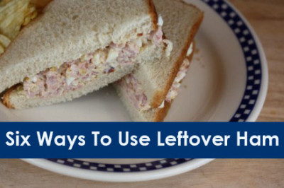 Six ways to use leftover ham