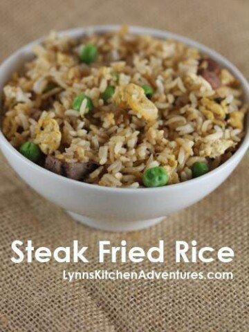 steak fried rice