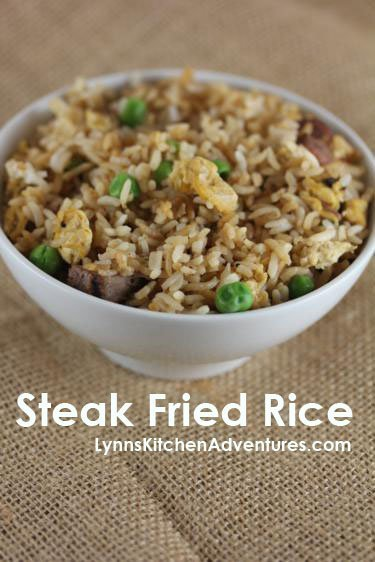 Steak Fried Rice and Creative Leftovers