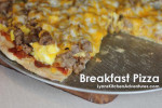 Breakfast Pizza from LynnsKitchenAdventures.com