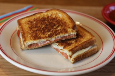 Pizza Grilled Cheese 3