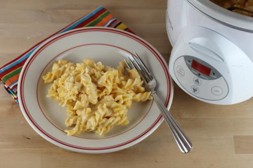 slow cooked macaroni and cheese