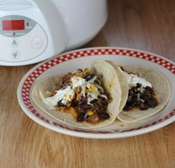 slow cooked Mexican Round Steak