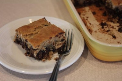 Flourless Chocolate Chip Cake 2