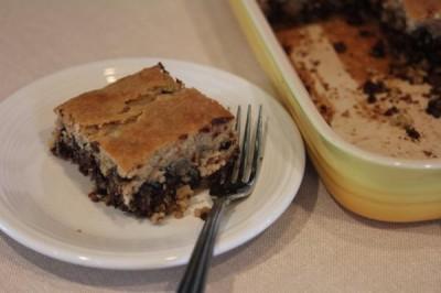 Flourless Chocolate Chip Cake 2