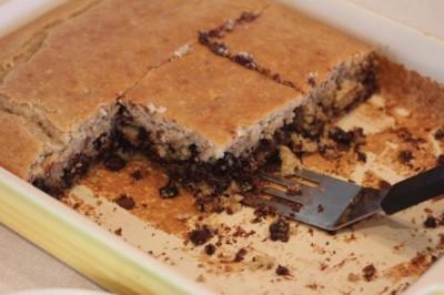 Flourless Chocolate Chip Cake_