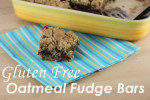 Gluten Free Oatmeal Fudge Bars