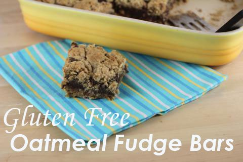 Gluten Free Fudge Bars