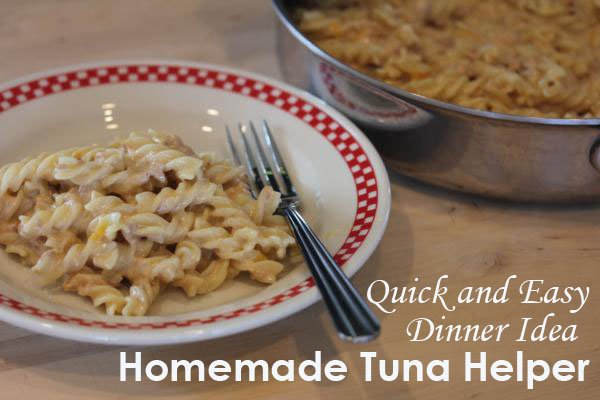 Homemade Cheesy Tuna Helper