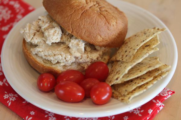 Ceasar Style Chicken Salad Sandwiches__