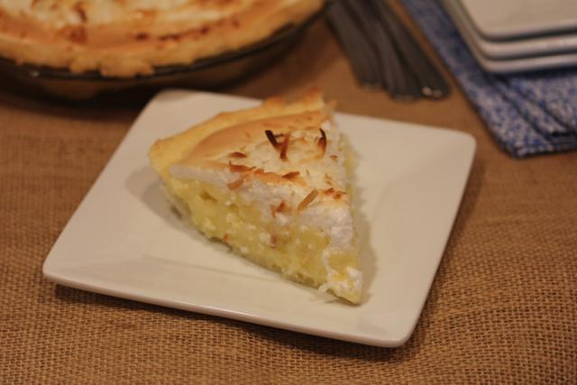 Coconut Cream Pie with Meringue Topping 3