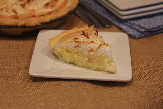 Coconut Cream Pie with Meringue Topping 4