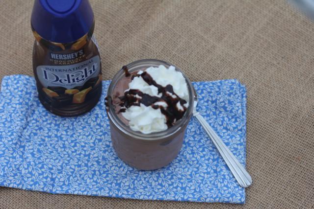 Easy Chocolate Caramel Milkshake