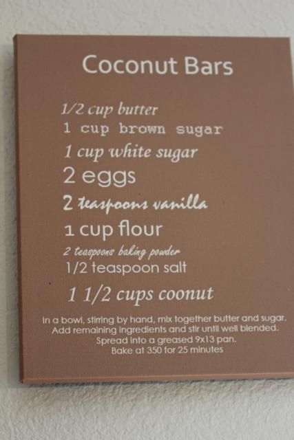 Favorite Family Recipes on Canvas 6