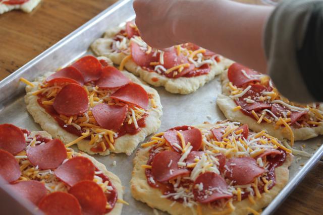 Homemade Frozen Pizza 2