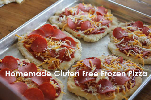 Gluten Free Frozen Pizza {Quick and Easy Gluten Free Dinner Idea}