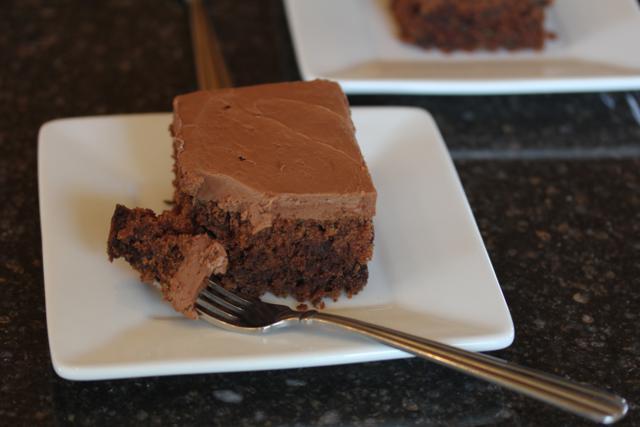 Gluten Free Chocolate Zucchini Cake _