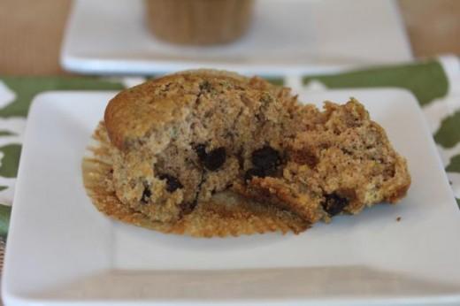 Gluten Free Zucchini Muffin 2