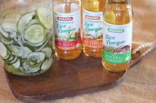 Seasoned Refrigerator Pickles -