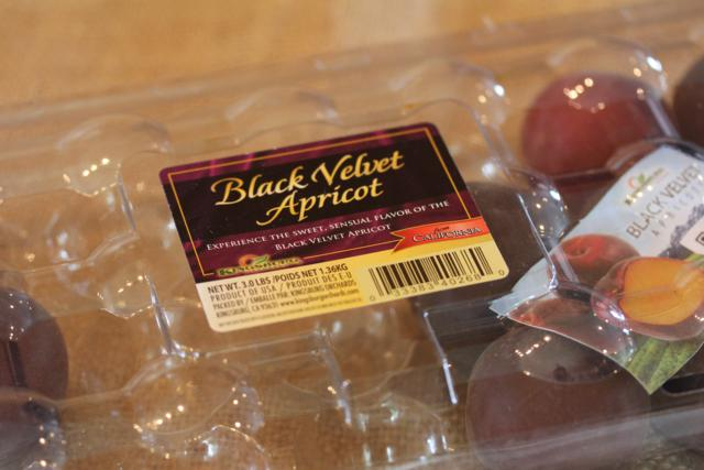 What Is It Wednesday- Black Apricot Also Known As Pluot or Plumcot