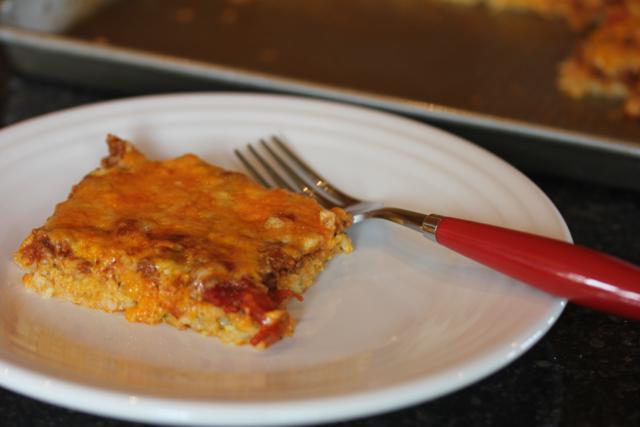 Zucchini Pizza -