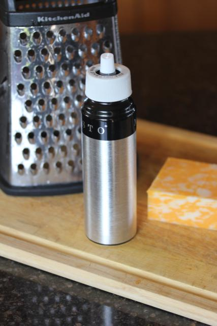 Easy Grater Clean Up {Kitchen Tip}