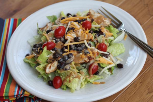 Barbecue Ranch Chicken Salad 2