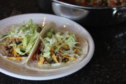 Easy Pork Tacos -
