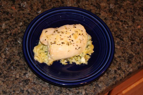 Evie's Zucchini Stuffed Chicken