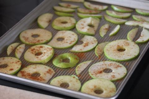 Homemade Apple Chips 2