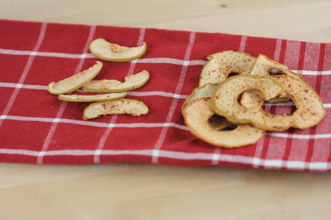 Homemade Apple Chips  5