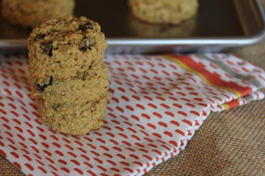 Peanut Butter Oatmeal Breakfast Cookies - Lynn's Kitchen Adventures