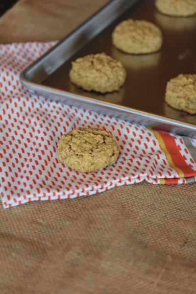 Peanut Butter Oatmeal Breakfast Cookie